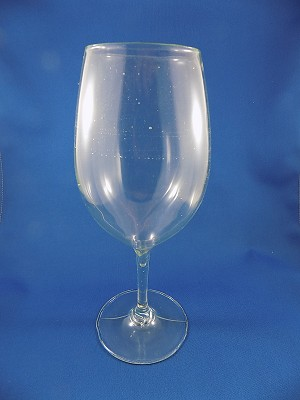 Clear Red Wine Glass