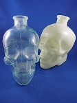 Crystal Skull Vodka Bottles - Clear & White -  6