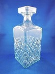 Crystal Decanter - 9 1/2