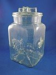 Candy Jar with lid - 8 1/2